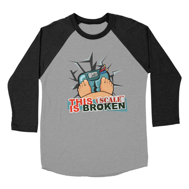 This Scale is Broken! Women's Baseball Triblend Longsleeve T-Shirt by This Game is Broken Shop