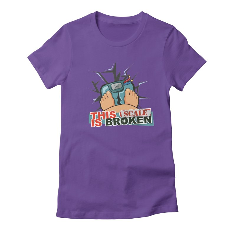This Scale is Broken! Women's Fitted T-Shirt by This Game is Broken Shop