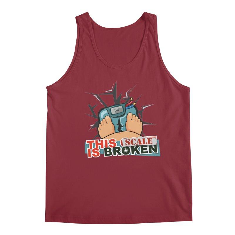 This Scale is Broken! Men's Regular Tank by This Game is Broken Shop
