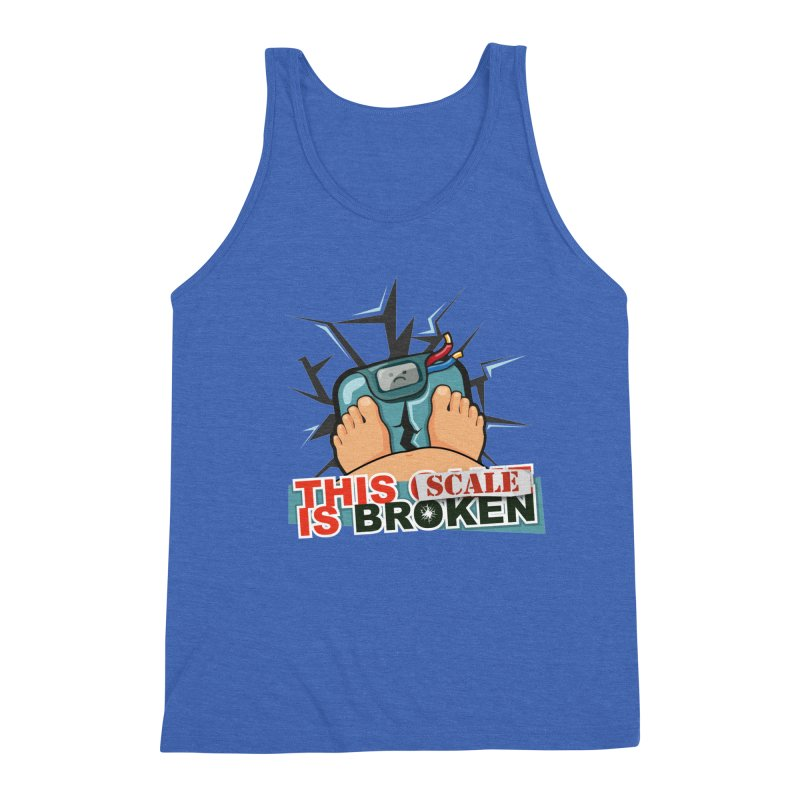 This Scale is Broken! Men's Triblend Tank by This Game is Broken Shop