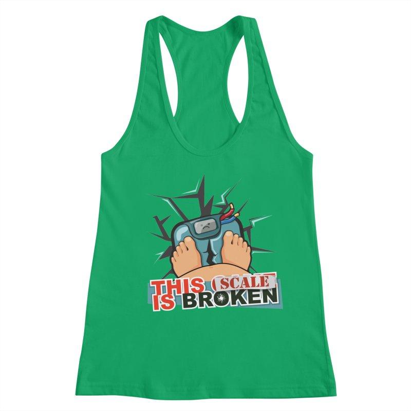 This Scale is Broken! Women's Racerback Tank by This Game is Broken Shop