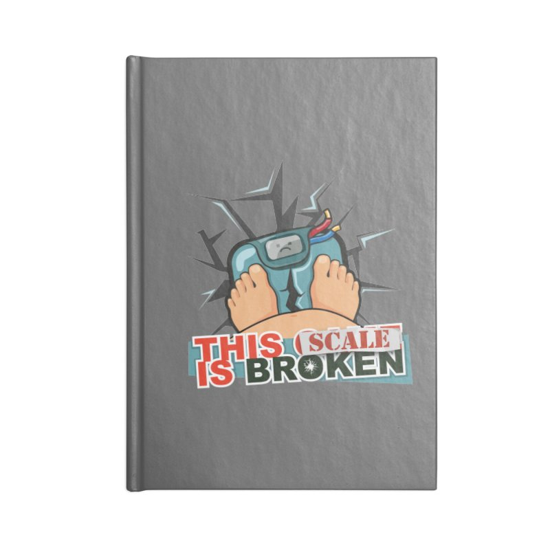 This Scale is Broken! Accessories Lined Journal Notebook by This Game is Broken Shop