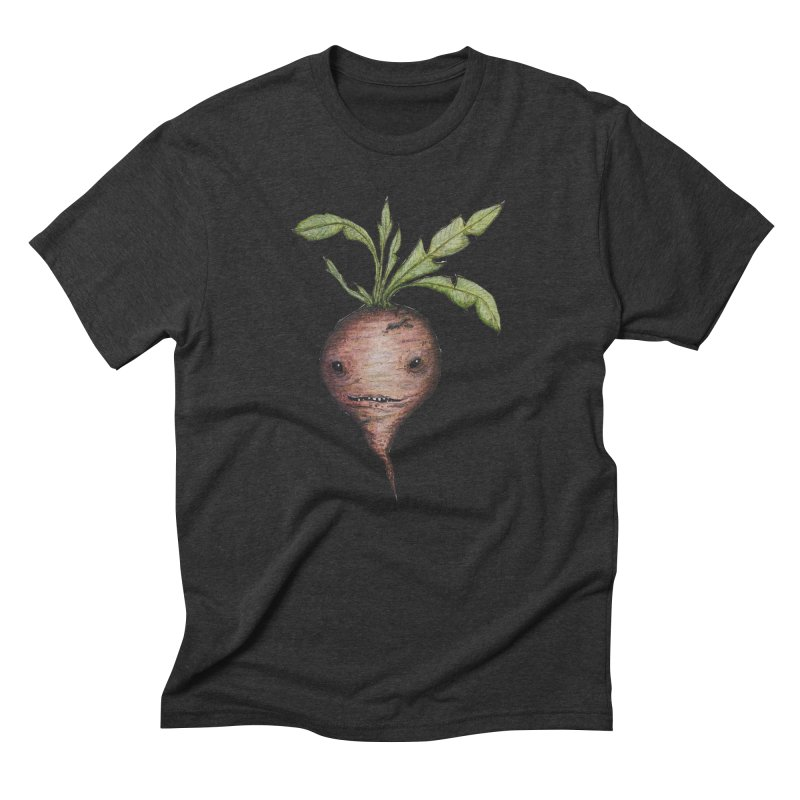 Beetroot Spirit Men's Triblend T-Shirt by Thistleroot's Artist Shop