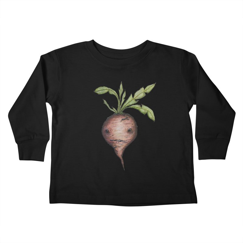 Beetroot Spirit Kids Toddler Longsleeve T-Shirt by Thistleroot's Artist Shop