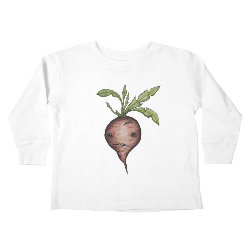 Beetroot Spirit Kids Toddler Longsleeve T-Shirt by Thistleroot's Artist Shop