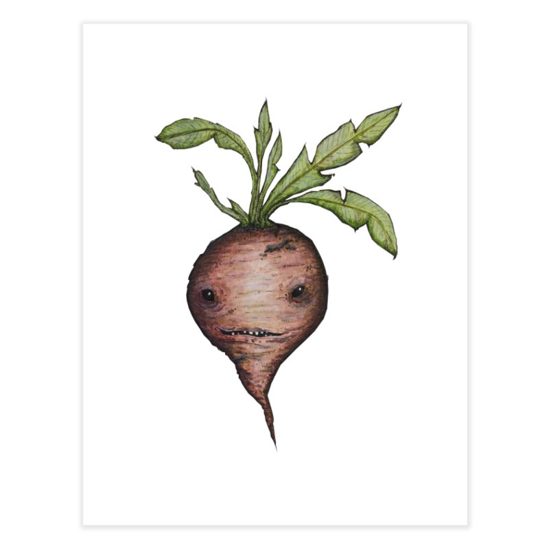 Beetroot Spirit Home Fine Art Print by Thistleroot's Artist Shop