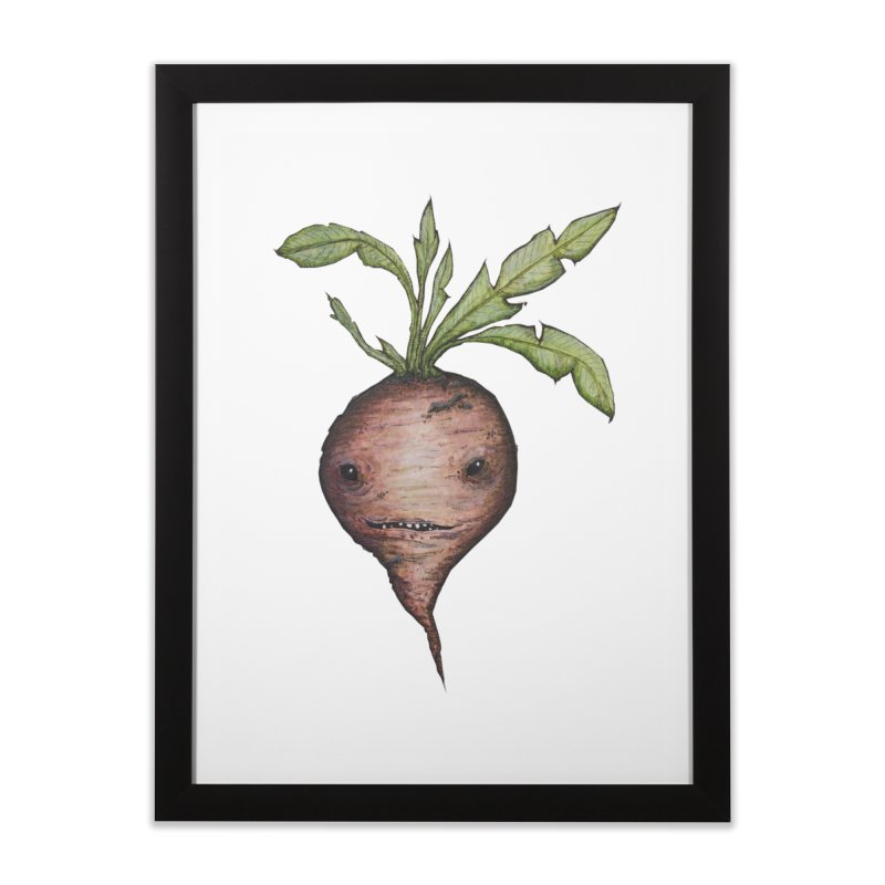 Beetroot Spirit Home Framed Fine Art Print by Thistleroot's Artist Shop