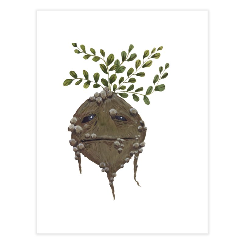 Mandrake Root Home Fine Art Print by Thistleroot's Artist Shop