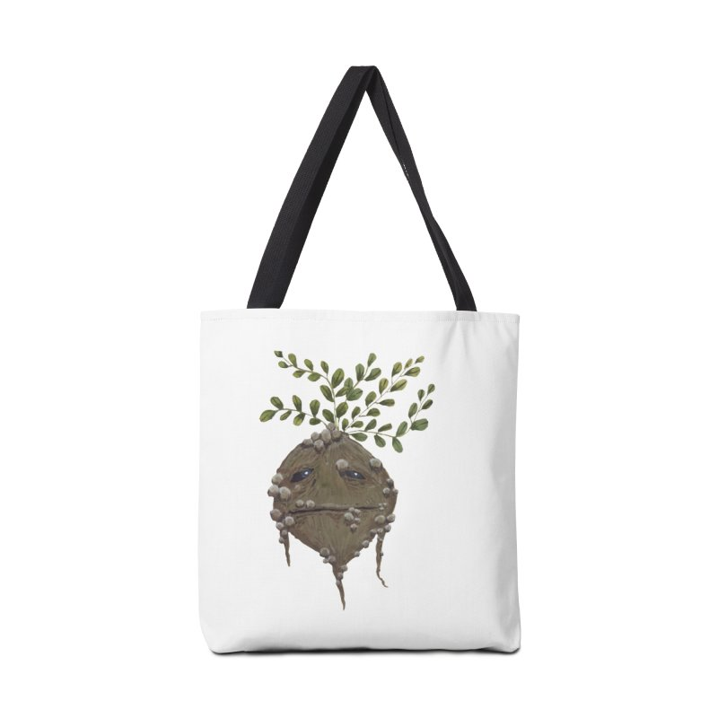 Mandrake Root Accessories Bag by Thistleroot's Artist Shop