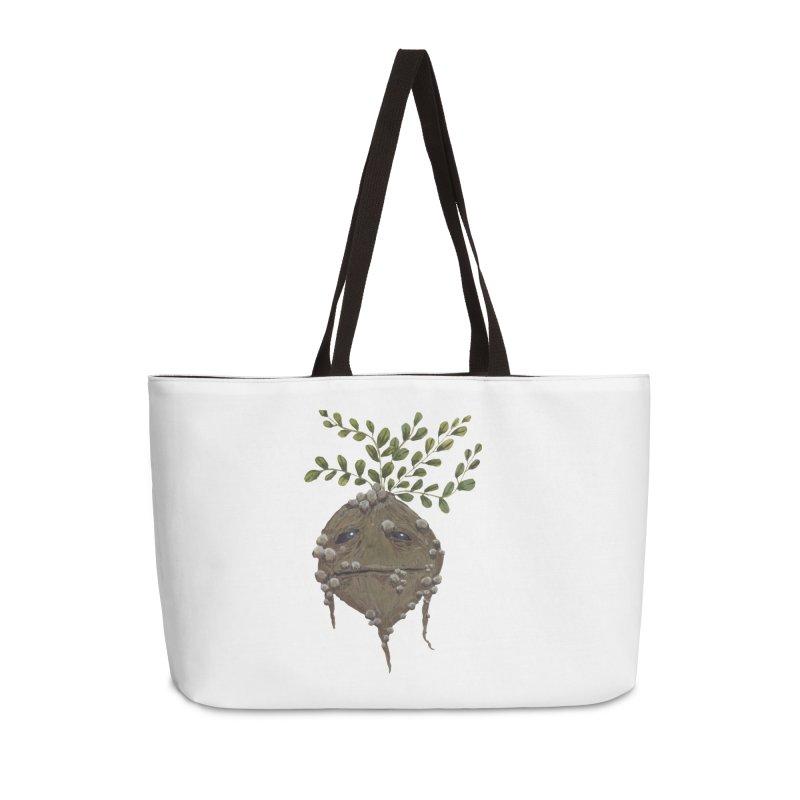 Mandrake Root Accessories Weekender Bag Bag by Thistleroot's Artist Shop