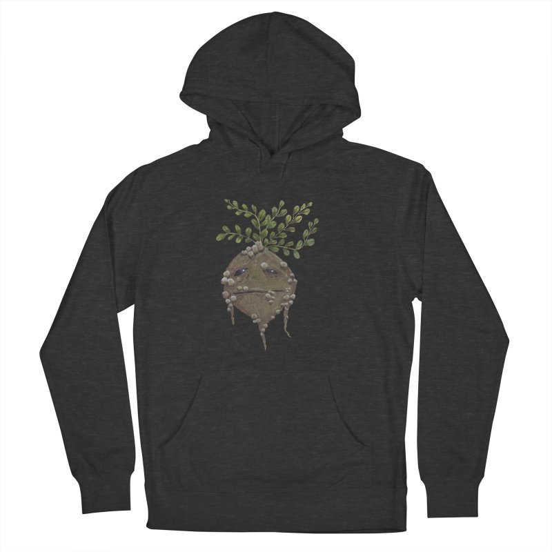 Mandrake Root Women's French Terry Pullover Hoody by Thistleroot's Artist Shop