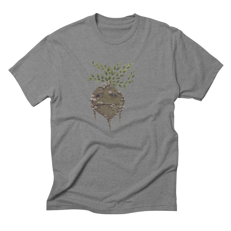 Mandrake Root Men's Triblend T-Shirt by Thistleroot's Artist Shop