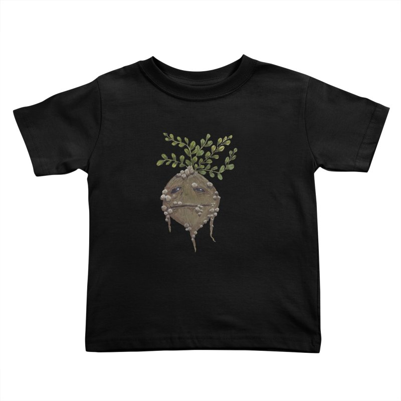 Mandrake Root Kids Toddler T-Shirt by Thistleroot's Artist Shop