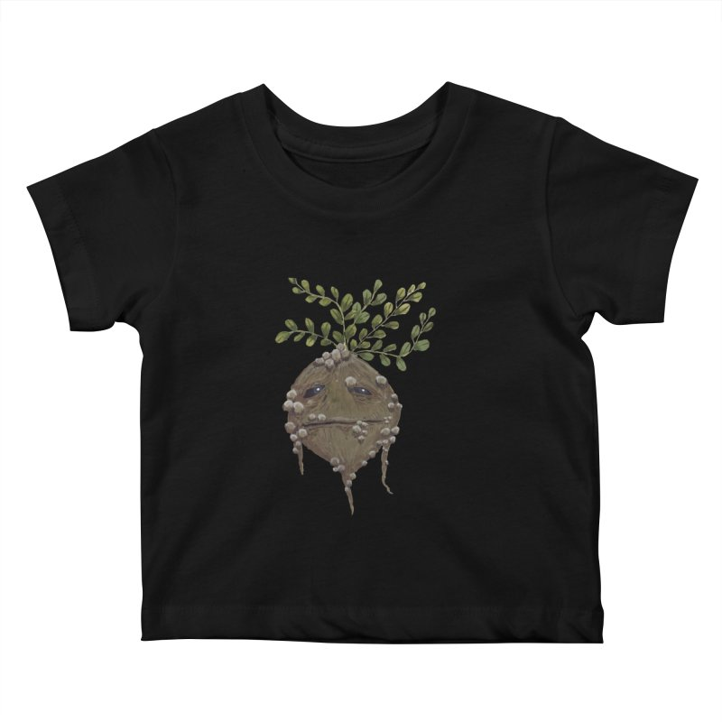 Mandrake Root Kids Baby T-Shirt by Thistleroot's Artist Shop