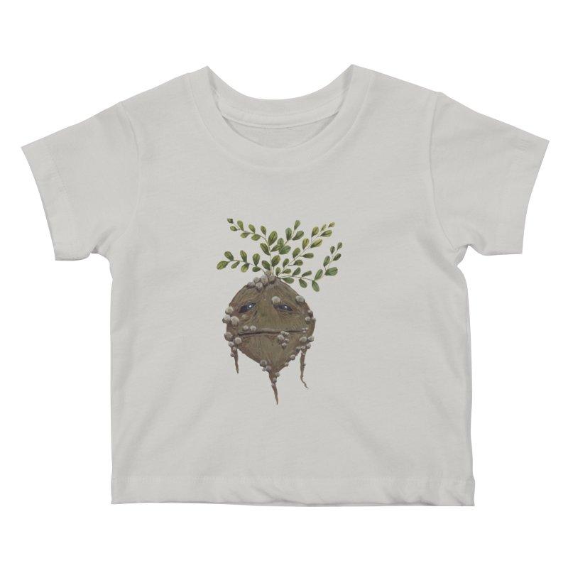 Mandrake Root Kids Baby T-Shirt by Thistleroot's Artist Shop