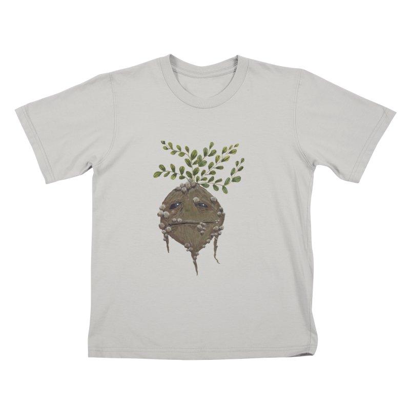 Mandrake Root Kids T-shirt by Thistleroot's Artist Shop
