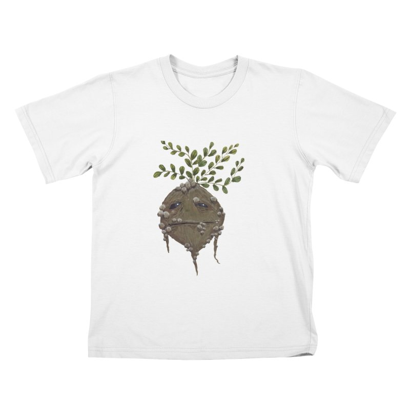 Mandrake Root Kids T-Shirt by Thistleroot's Artist Shop