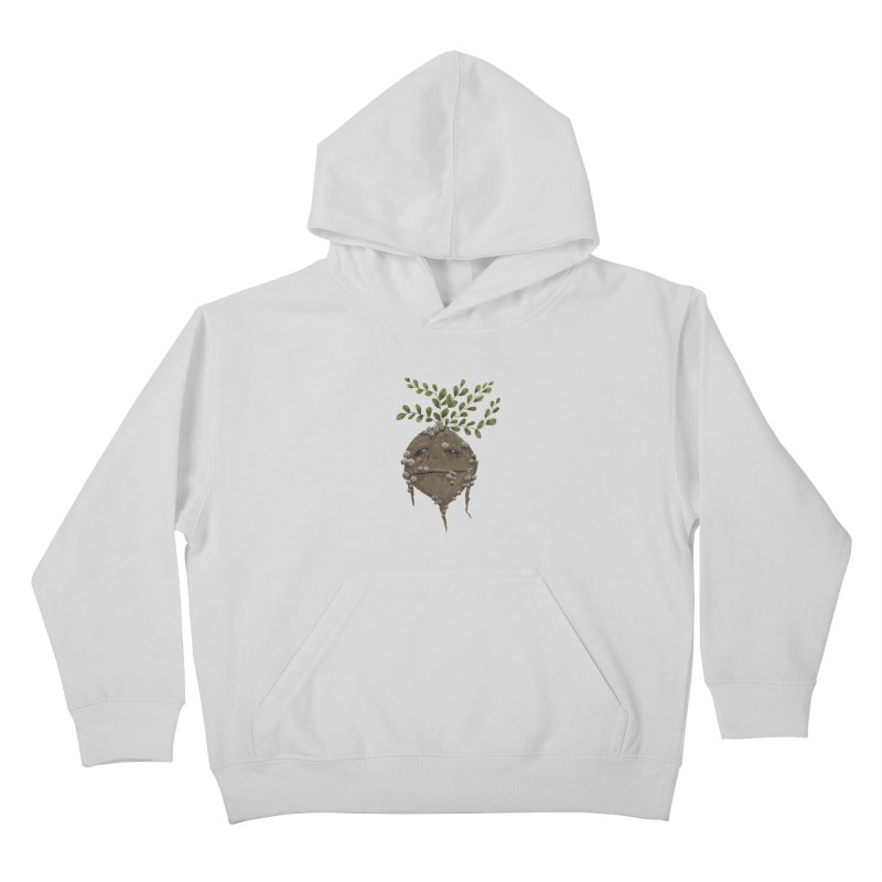Mandrake Root Kids Pullover Hoody by Thistleroot's Artist Shop