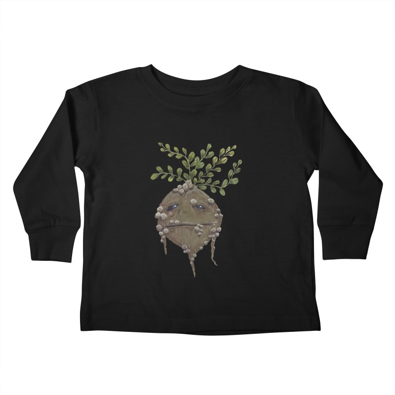 Mandrake Root Kids Toddler Longsleeve T-Shirt by Thistleroot's Artist Shop