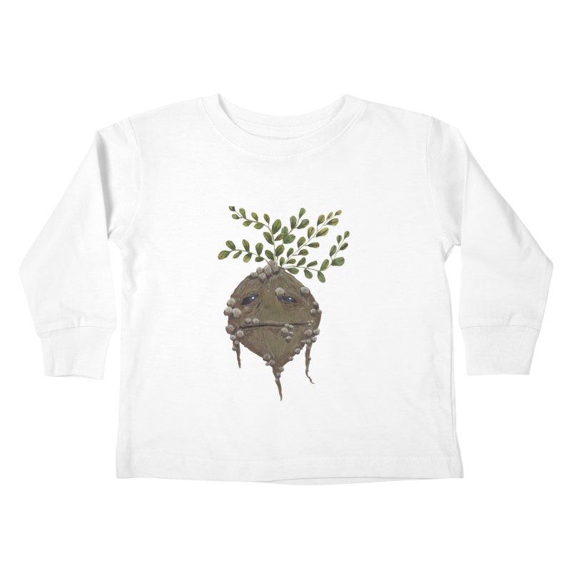Mandrake Root Kids Toddler Longsleeve T-Shirt by Thistleroot's Artist Shop