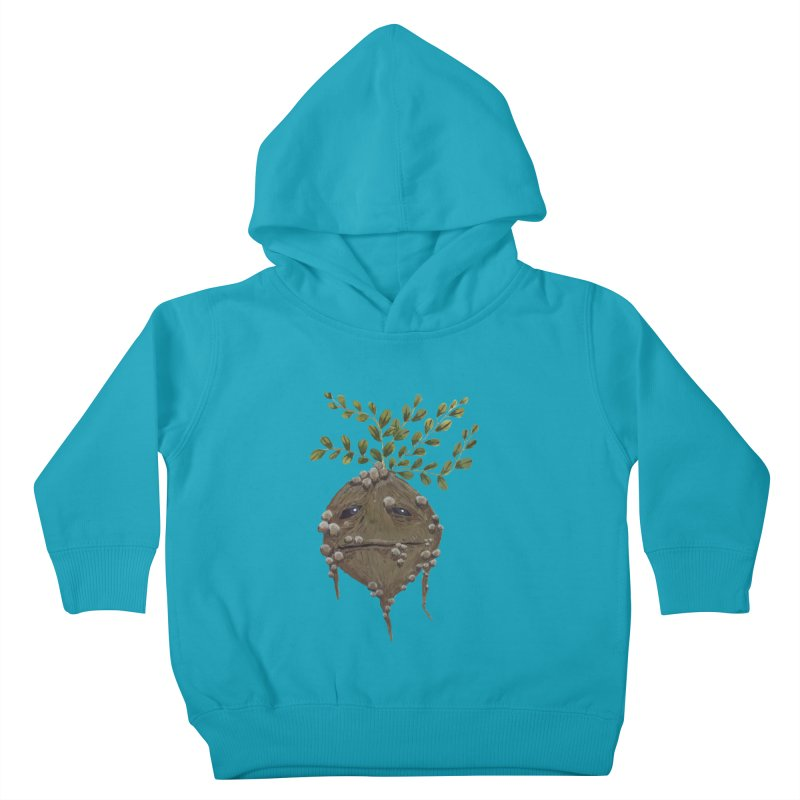 Mandrake Root Kids Toddler Pullover Hoody by Thistleroot's Artist Shop
