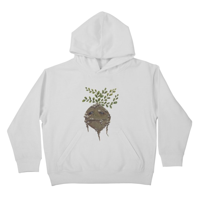 Mandrake Root Kids Pullover Hoody by Thistleroot's Artist Shop