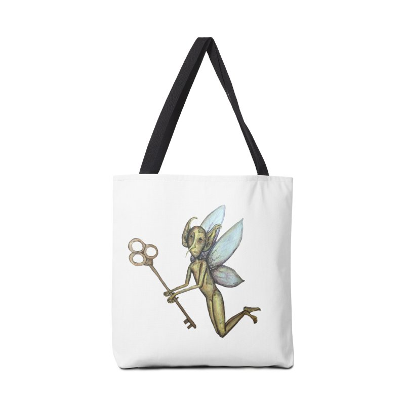Key-Turn Fairy Accessories Bag by Thistleroot's Artist Shop