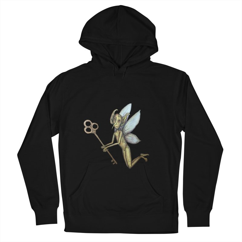 Key-Turn Fairy Women's Pullover Hoody by Thistleroot's Artist Shop