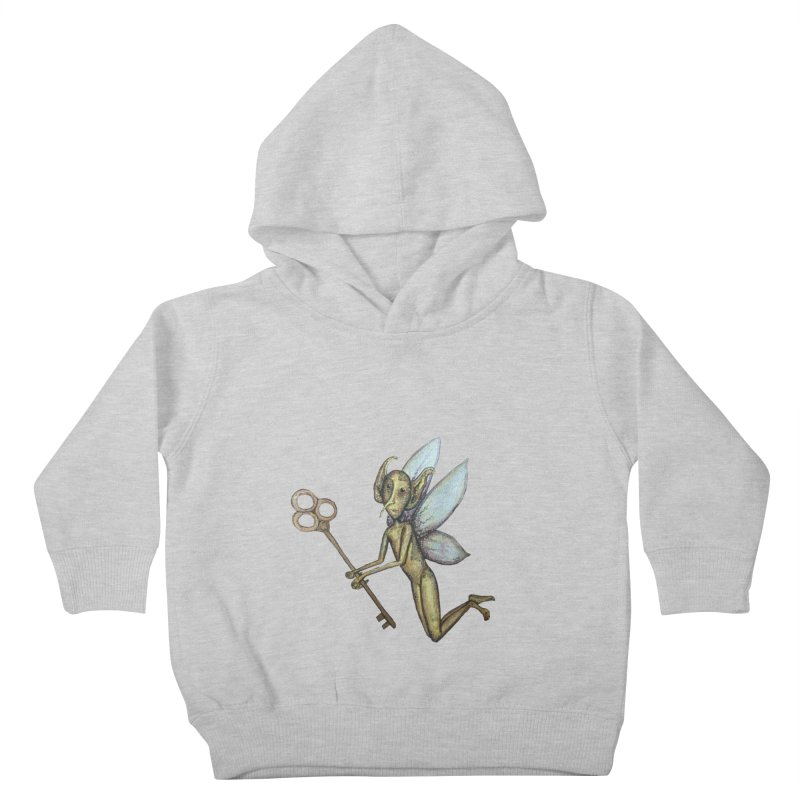 Key-Turn Fairy Kids Toddler Pullover Hoody by Thistleroot's Artist Shop