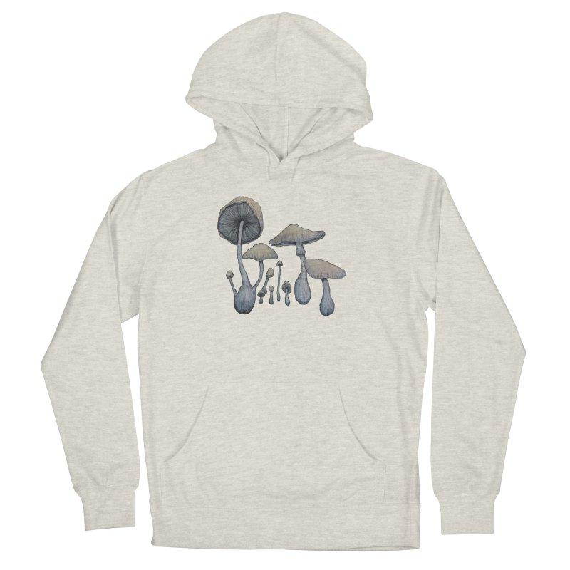 Mushrooms Men's Pullover Hoody by Thistleroot's Artist Shop