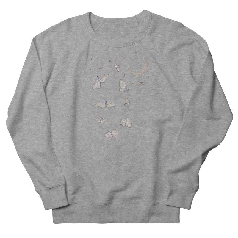 Moon Moths Women's Sweatshirt by Thistleroot's Artist Shop