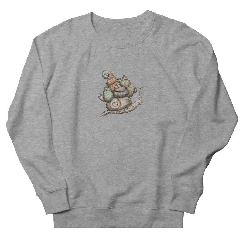 King Castle Snail Women's Sweatshirt by Thistleroot's Artist Shop