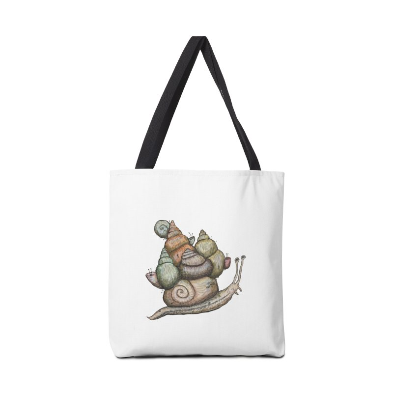 King Castle Snail Accessories Bag by Thistleroot's Artist Shop