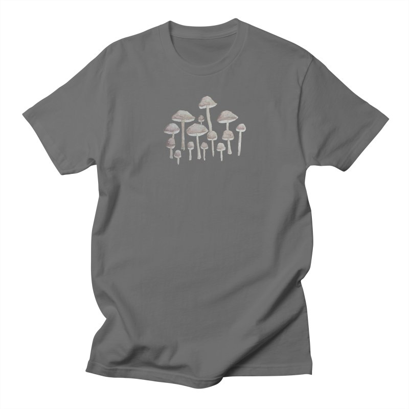 Pin Drop Mushrooms  Men's T-Shirt by Thistleroot's Artist Shop