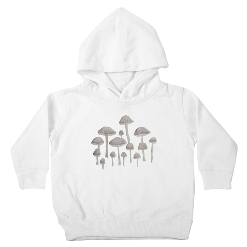 Pin Drop Mushrooms  Kids Toddler Pullover Hoody by Thistleroot's Artist Shop