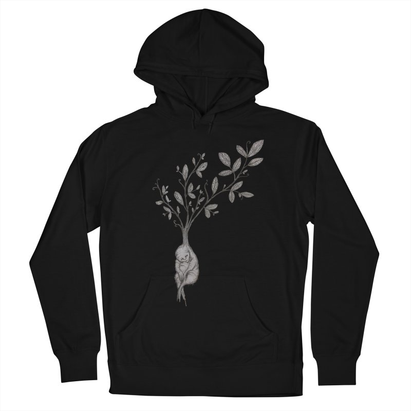 Sleeping Baby Root Women's Pullover Hoody by Thistleroot's Artist Shop