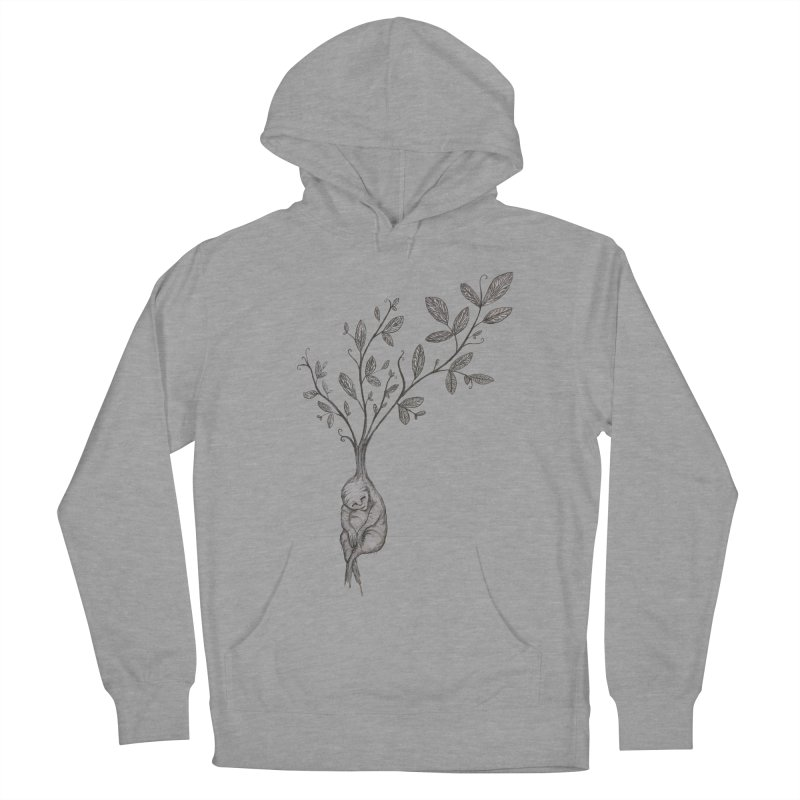 Sleeping Baby Root Men's Pullover Hoody by Thistleroot's Artist Shop
