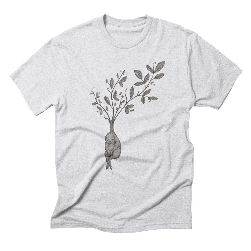 Sleeping Baby Root Men's Triblend T-Shirt by Thistleroot's Artist Shop