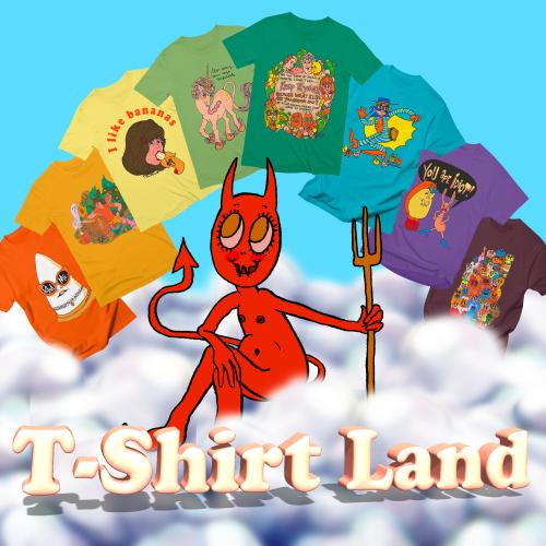 T-Shirt-Land