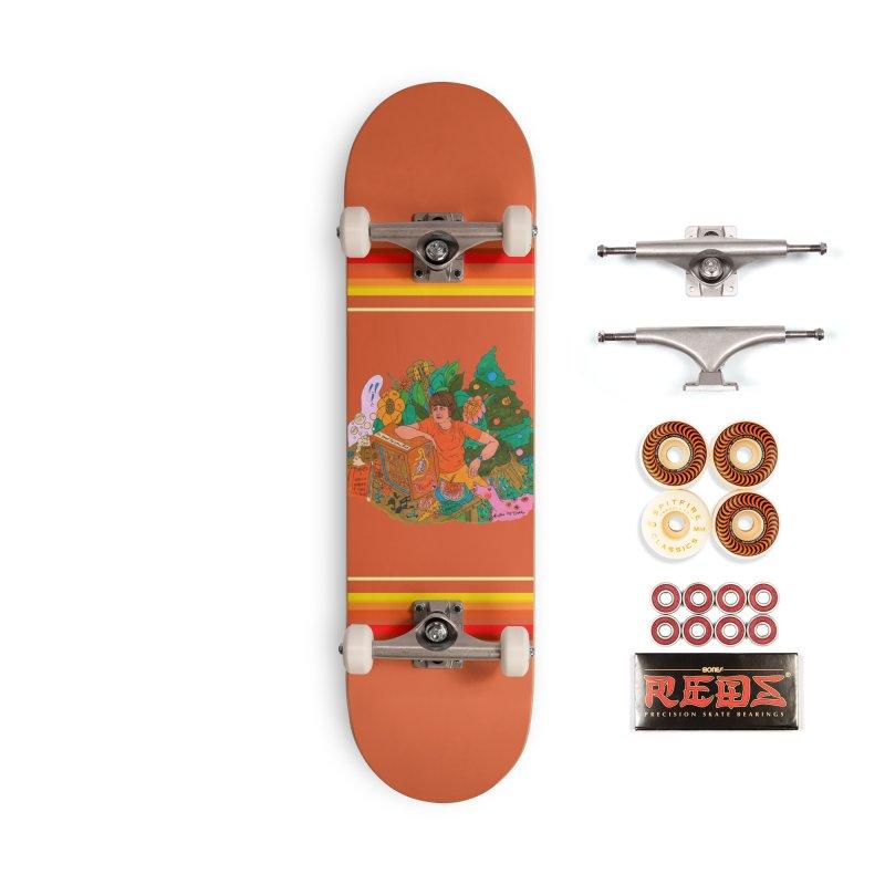 Brian Wilson's Garden Accessories Skateboard by Thunderpuss