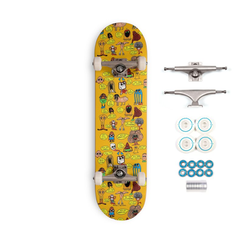 What is Wrong With You? Accessories Skateboard by Thunderpuss