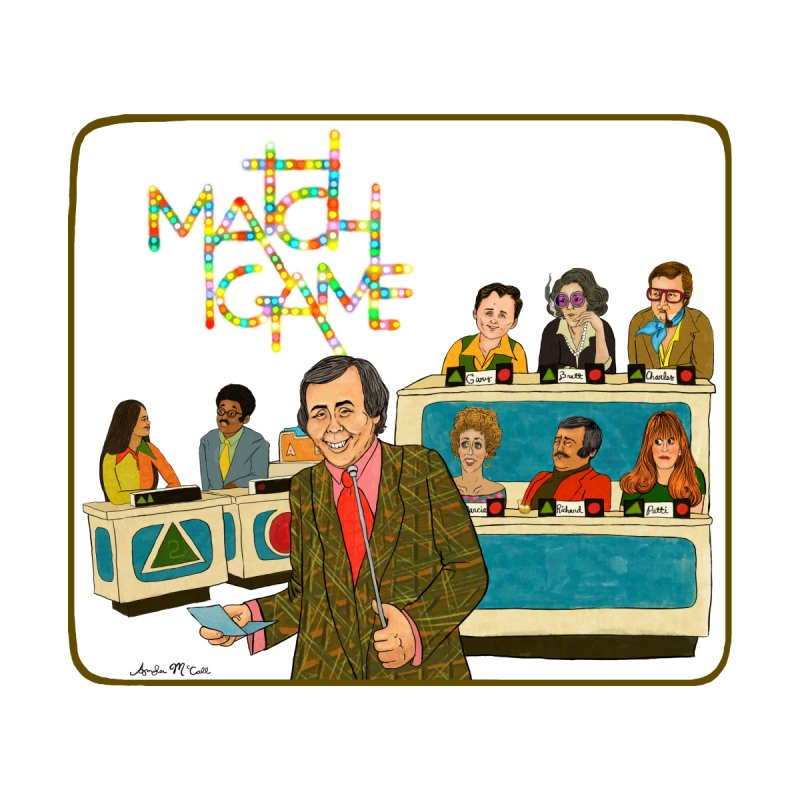 Match Game 70s Home Mounted Acrylic Print by Thunderpuss
