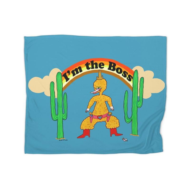 I'm the Boss Home Blanket by Thunderpuss