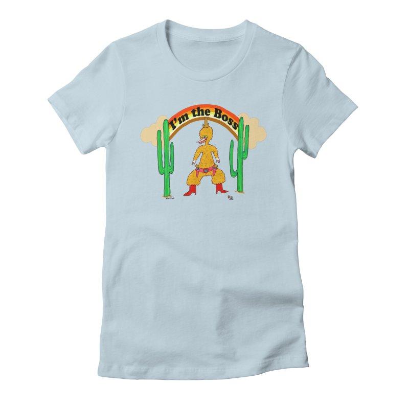 I'm the Boss Women's T-Shirt by Thunderpuss