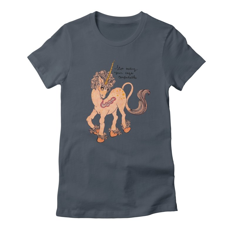 Conditioned Unicorn Women's T-Shirt by Thunderpuss