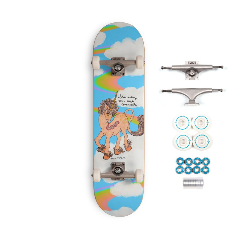 Conditioned Unicorn Accessories Skateboard by Thunderpuss