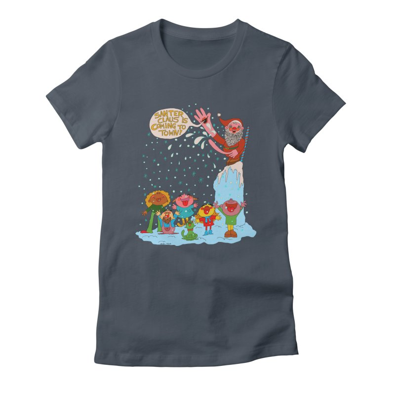 Santer Claus is Coming Women's T-Shirt by Thunderpuss