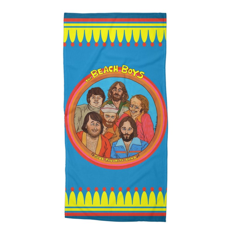 Gods Favorite Band Accessories Beach Towel by Thunderpuss