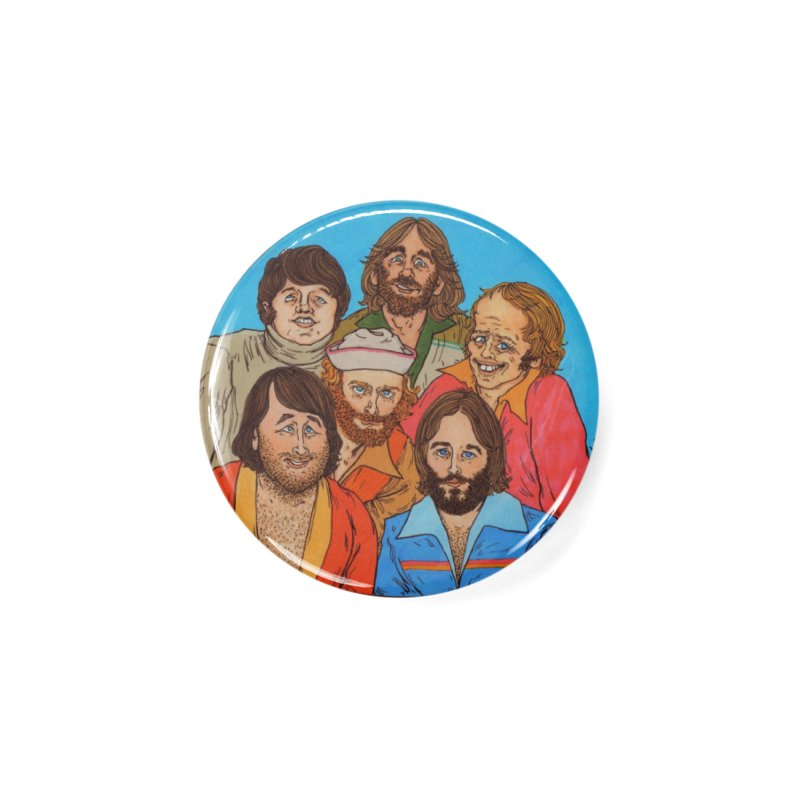 Gods Favorite Band Accessories Button by Thunderpuss