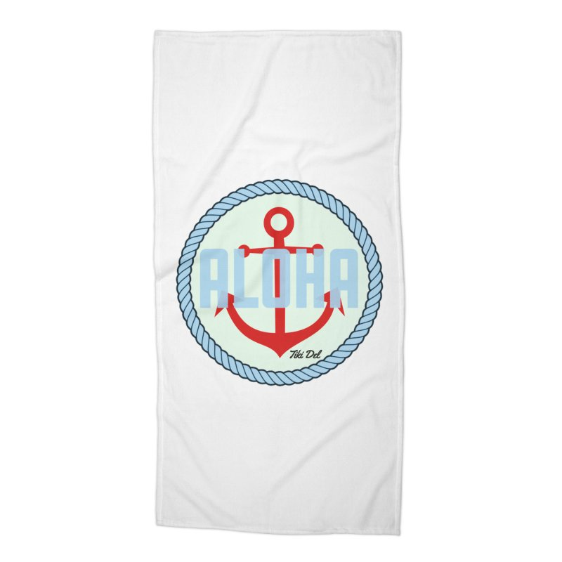 HELLO/GOODBYE Accessories Beach Towel by Tiki Del